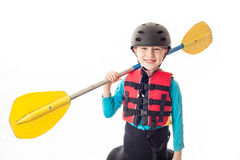 Youth Kayaker Stock Photography