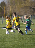 Youth Soccer Game Stock Images
