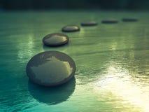 Zen-Steine Stockbild