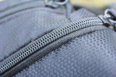 Zip of Bag Stock Photo