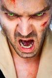 Zombie scary eyes Stock Photos