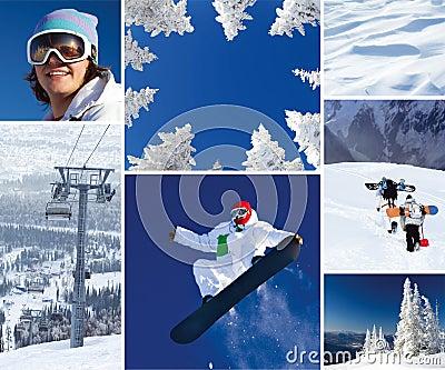 Winter theme Royalty Free Stock Photo